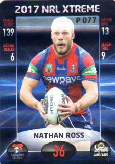 2017 NRL Xtreme Parallel P77 Nathan Ross Knights