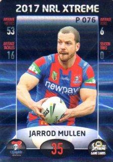 2017 NRL Xtreme Parallel P76 Jarrod Mullen Knights