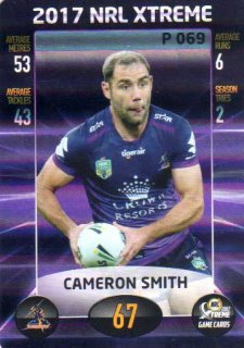 2017 NRL Xtreme Parallel P69 Cameron Smith Storm
