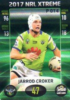 2017 NRL Xtreme Parallel P14 Jarrod Croker Raiders