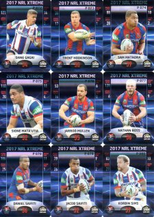 2017 NRL Xtreme Parallel Team Set Newcastle Knights