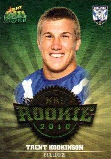 2011 NRL Champions Rookie 2010 #R9 Trent Hodkinson Bulldogs