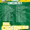 2017 NRL Super Hero Checklist