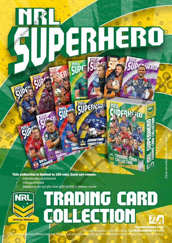 2017 NRL Super Hero Flyer