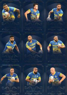2017 NRL Elite 10-Card Base Team Set Parramatta Eels