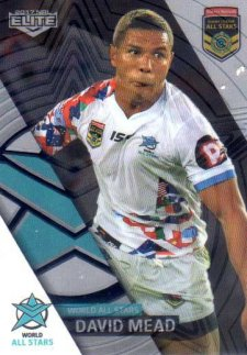 2017 NRL Elite All Stars Box Card AS8 David Mead Broncos