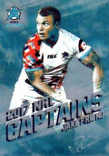 2017 NRL Elite 2017 Captains C17 Jake Friend World All Stars