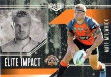 2017 NRL Elite Impact EI63 Matt Mcilwrick Tigers