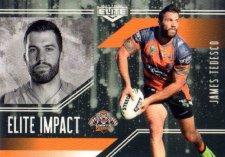 2017 NRL Elite Impact EI64 James Tedesco Tigers