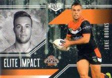 2017 NRL Elite Impact EI62 Luke Brooks Tigers