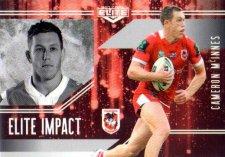 2017 NRL Elite Impact EI51 Cameron McInnes Dragons
