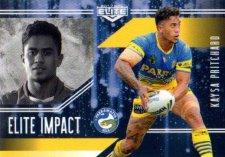 2017 NRL Elite Impact EI40 Kaysa Pritchard Eels