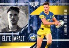 2017 NRL Elite Impact EI38 Clinton Gutherson Eels