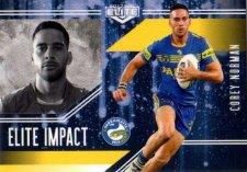 2017 NRL Elite Impact EI39 Corey Norman Eels