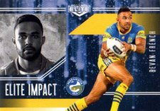 2017 NRL Elite Impact EI37 Bevan French Eels