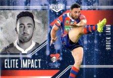 2017 NRL Elite Impact EI31 Brock Lamb Knights