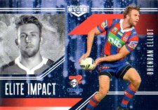 2017 NRL Elite Impact EI29 Brendan Elliot Knights