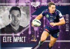 2017 NRL Elite Impact EI27 Billy Slater Storm
