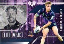 2017 NRL Elite Impact EI26 Cameron Munster Storm