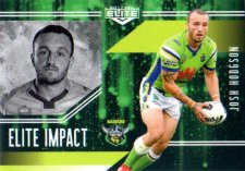 2017 NRL Elite Impact EI6 Josh Hodgson Raiders