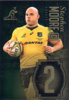 Wallabies Gold Jersey Numbers