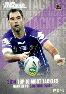 2015 NRL Traders Pieces of the Puzzle #PP23 Cameron Smith Storm