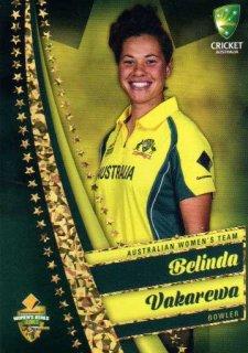 2017/18 Tap n Play Cricket The Ashes Gold Parallel 60 Belinda Vakarewa Wellington Australia Womens