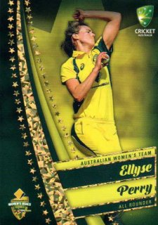 2017/18 Tap n Play Cricket The Ashes Gold Parallel 47 Ellyse Perry Australia Womens