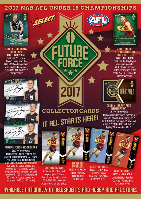 2017 AFL Future Force Sales Flyer