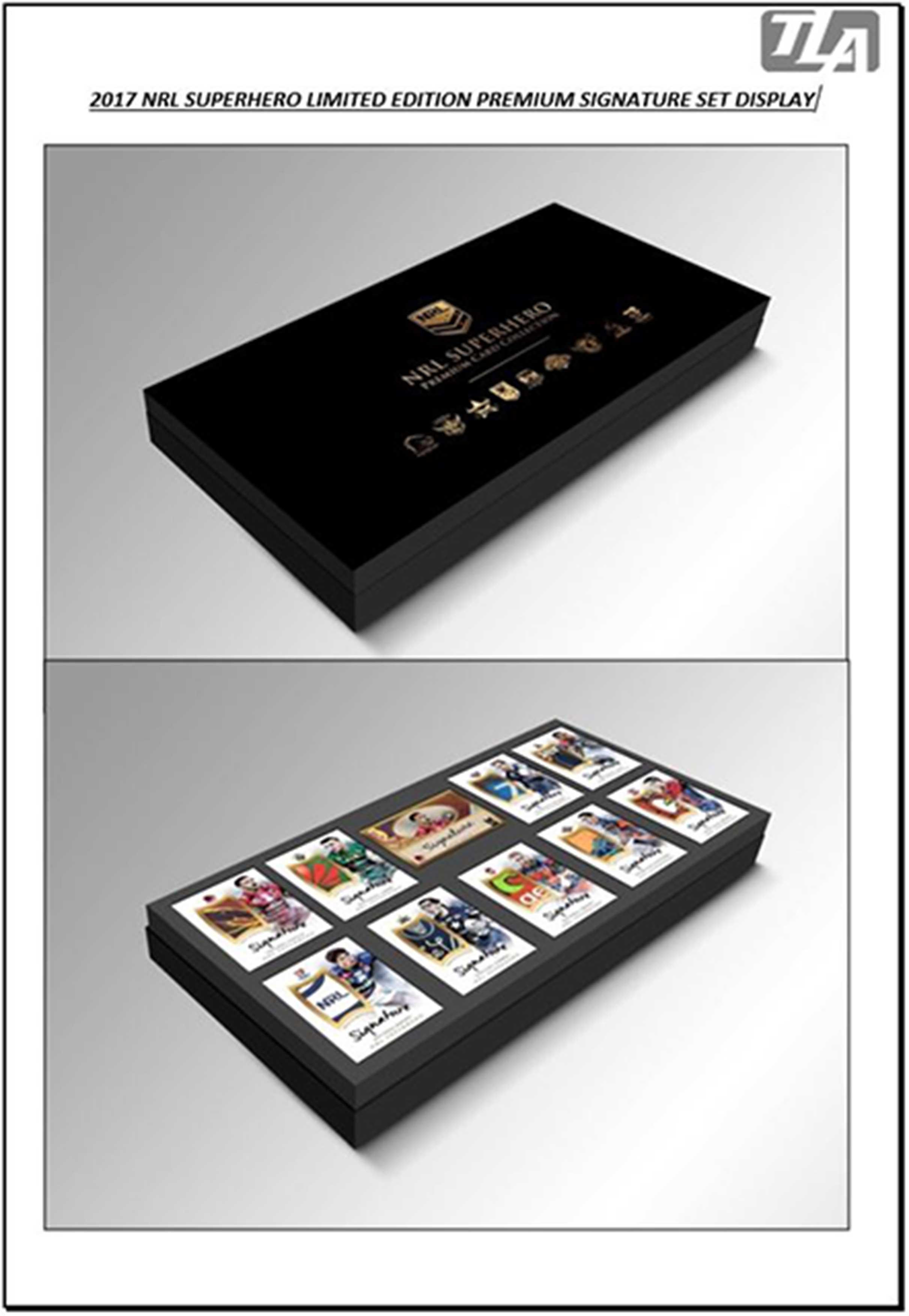 2017 NRL Superhero Premium Collection