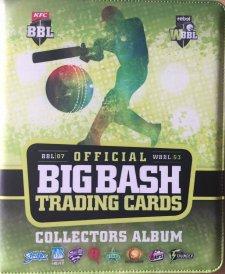 2017/18 BBL Big Bash Sealed Cricket Trading Card Album / Folder