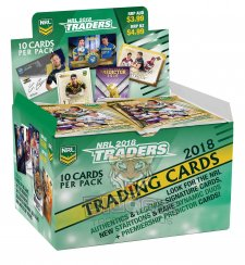 2018 ESP NRL Traders Sealed Box Trading Cards