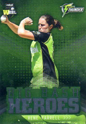 2017/18 BBL Cricket Big Bash Heroes H24 Rene Farrell Thunder