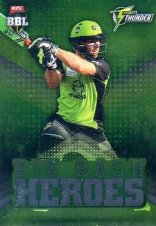 2017/18 BBL Cricket Big Bash Heroes H22 Aiden Blizzard Thunder
