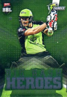 2017/18 BBL Cricket Big Bash Heroes H23 Shane Watson Thunder