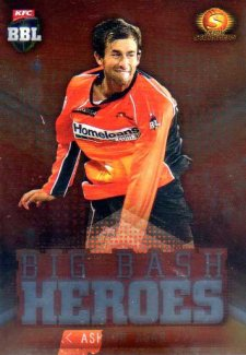 2017/18 BBL Cricket Big Bash Heroes H17 Ashton Agar Scorchers