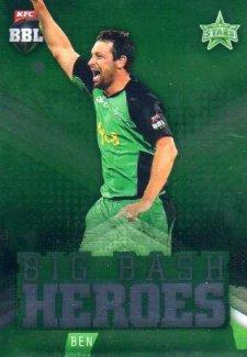2017/18 BBL Cricket Big Bash Heroes H14 Ben Hilfenhaus Stars