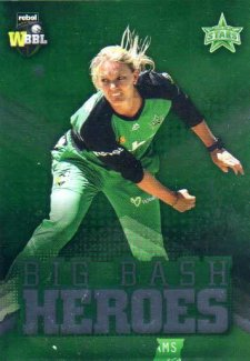 2017/18 BBL Cricket Big Bash Heroes H15 Kristen Beams Stars
