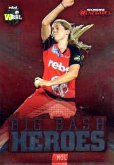 2017/18 BBL Cricket Big Bash Heroes H12 Sophie Molineux Renegades