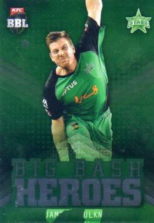 2017/18 BBL Cricket Big Bash Heroes H13 James Faulkner Stars