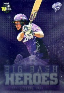 2017/18 BBL Cricket Big Bash Heroes H9 Corrine Hall Hurricanes
