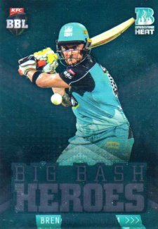 2017/18 BBL Cricket Big Bash Heroes H4 Brendan McCullum Heat