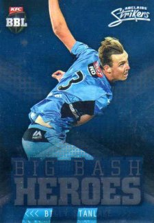 2017/18 BBL Cricket Big Bash Heroes H2 Billy Stanlake Strikers