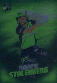 2017/18 BBL Big Bash Cricket Parallel Card 158 Naomi Stalenberg Thunder