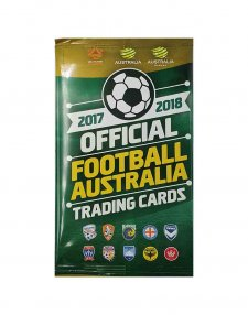 2017/18 FFA Football Australia Sealed Soccer Trading Card Packet