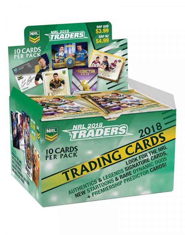 2018 TLA NRL Traders Sealed Trading Card Box