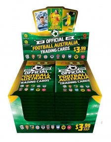 2017/18 FFA Football Australia Sealed Soccer Trading Card Box