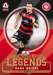 2017/18 FFA Football Club Legends CL10 Mark Bridge Wanderers