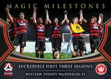 2017/18 FFA Football Magic Milestones MM10 Western Sydney Wanderers FC