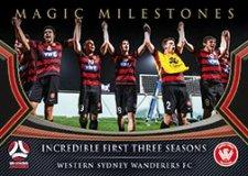 2017/18 FFA Football Magic Milestones MM10 Western Sydney Wanderers FC